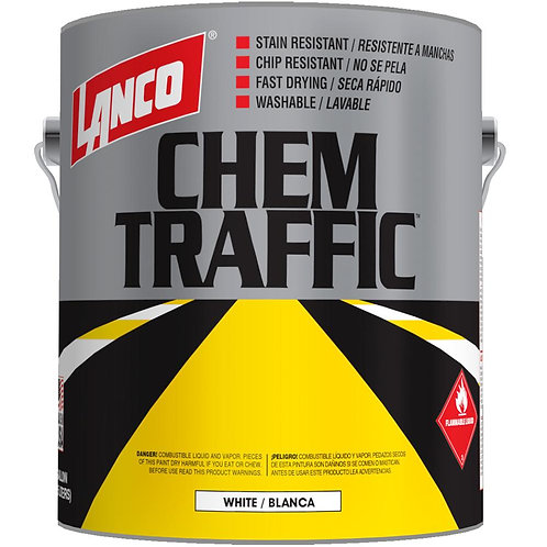 Lanco Chem Traffic 1 gal. Flat White Marking Paint