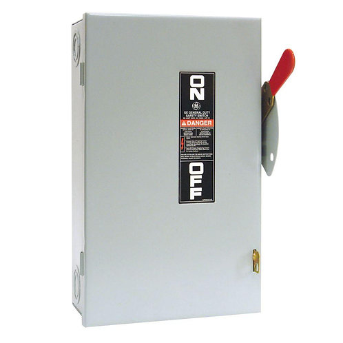 GE 60 Amp 240-Volt Non-Fuse Indoor Safety Switch