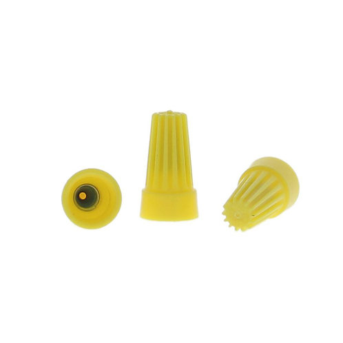 Commercial Electric Standard Wire Connectors, Yellow (30-Pack)