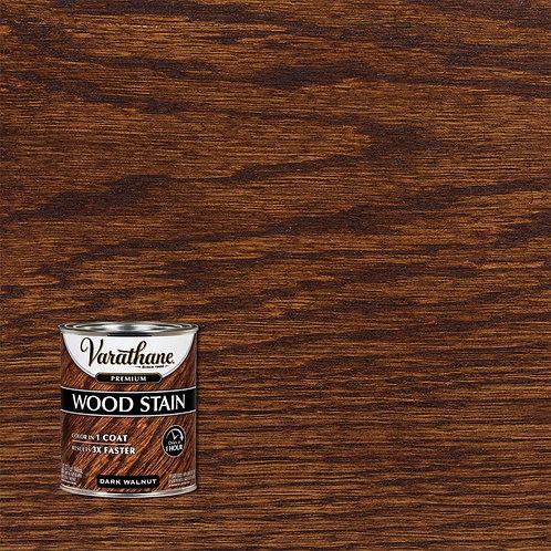 Dark Walnut Premium Fast Dry Interior Wood Stain - 1 qt.