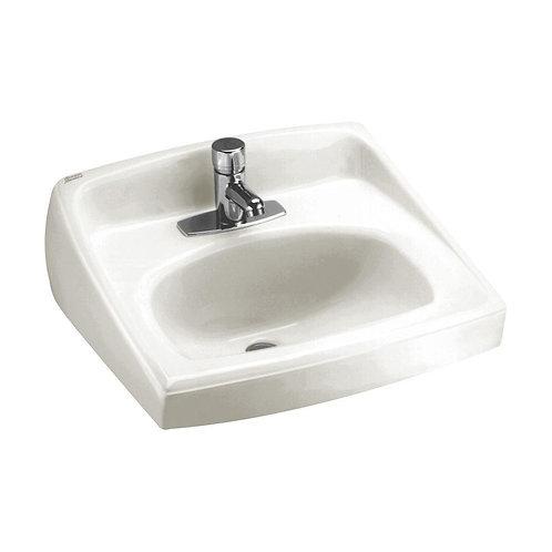 American Standard Lucerne Wall-Mount Bathroom Vessel Sink in White