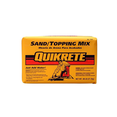 Quikrete 60 lb. Sand/Topping Mix