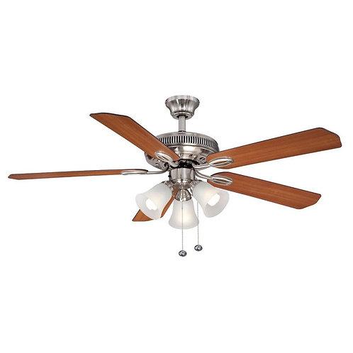 Glendale II 52 in. Brushed Nickel Ceiling Fan