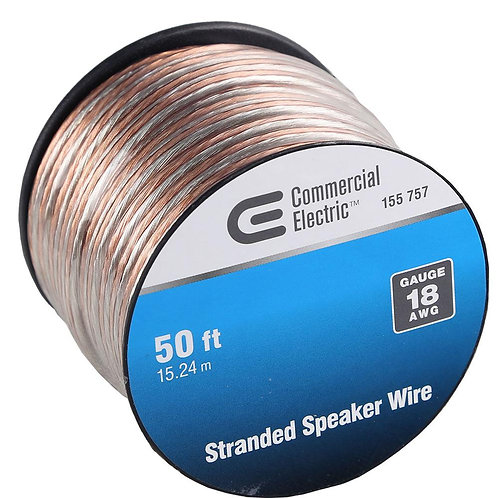 Southwire 50 ft. 18-Gauge Stranded Speaker Wire