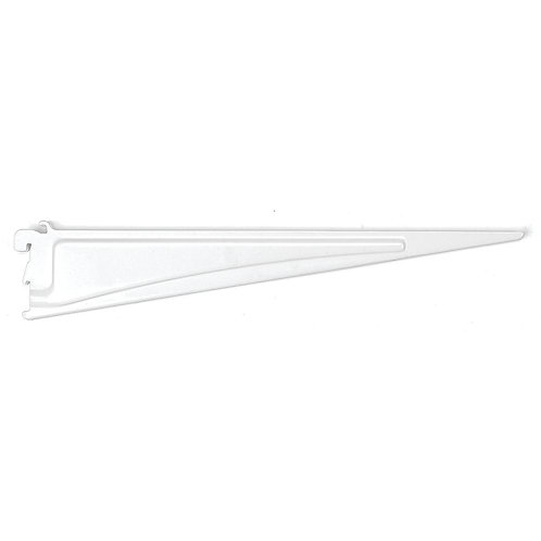ShelfTrack 16 in. x .5 in. White Shelf Bracket