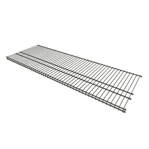 ClosetMaid 16 in. D x 48 in. W Nickel Steel Ventilated Wire Shelf