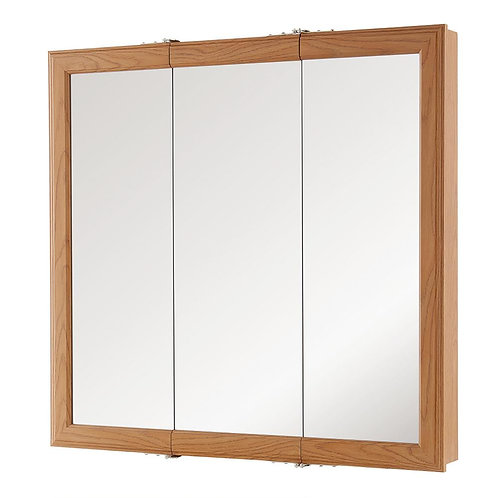 Home Decorators Collection 30-1/4 in. W x 29 in. H Fog Free Framed Surface-Mount