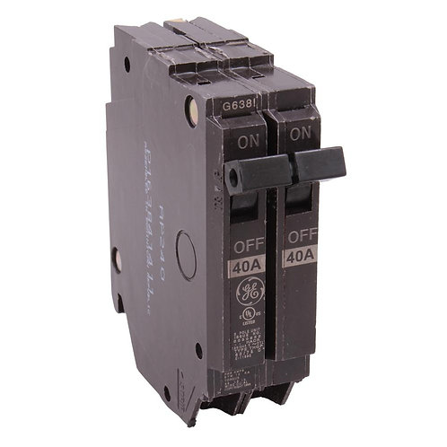 GE Q-Line 40 Amp 1 in. Double Pole Circuit Breaker