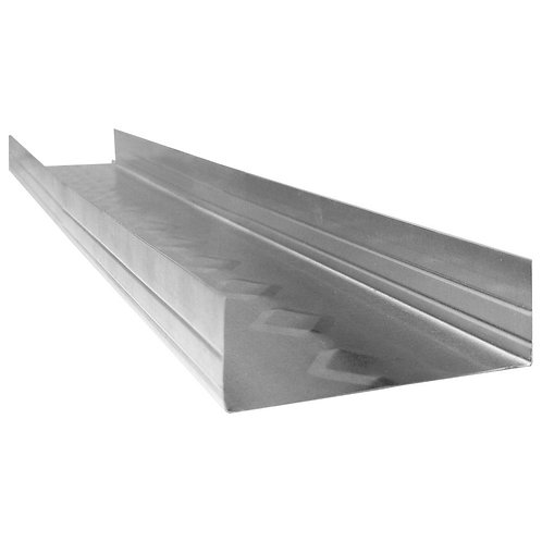 1-1/4 in. x 3-5/8 in. x 10 ft. Galvanized Steel Track