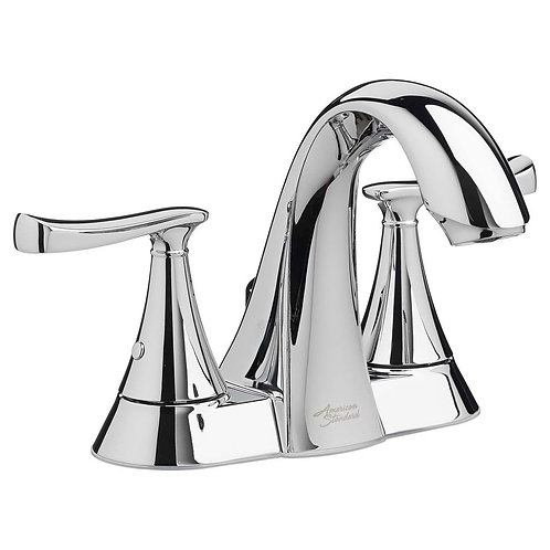American Standard Chatfield 4 in. Centerset 2-Handle Bathroom Faucet in Polished