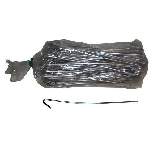 11 in. Aluminum Fence Ties (100-Pack)