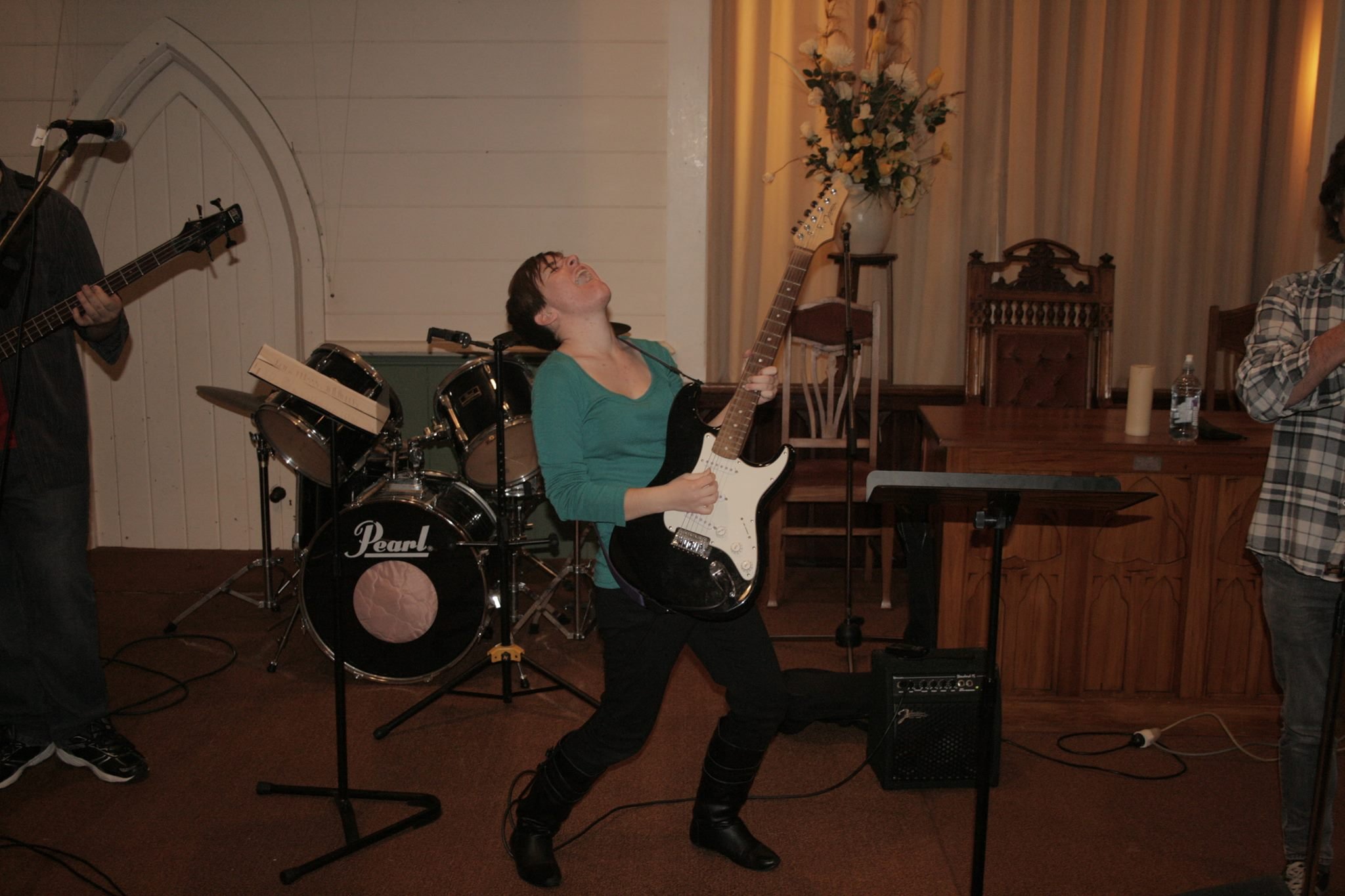 Rock it out Ruth