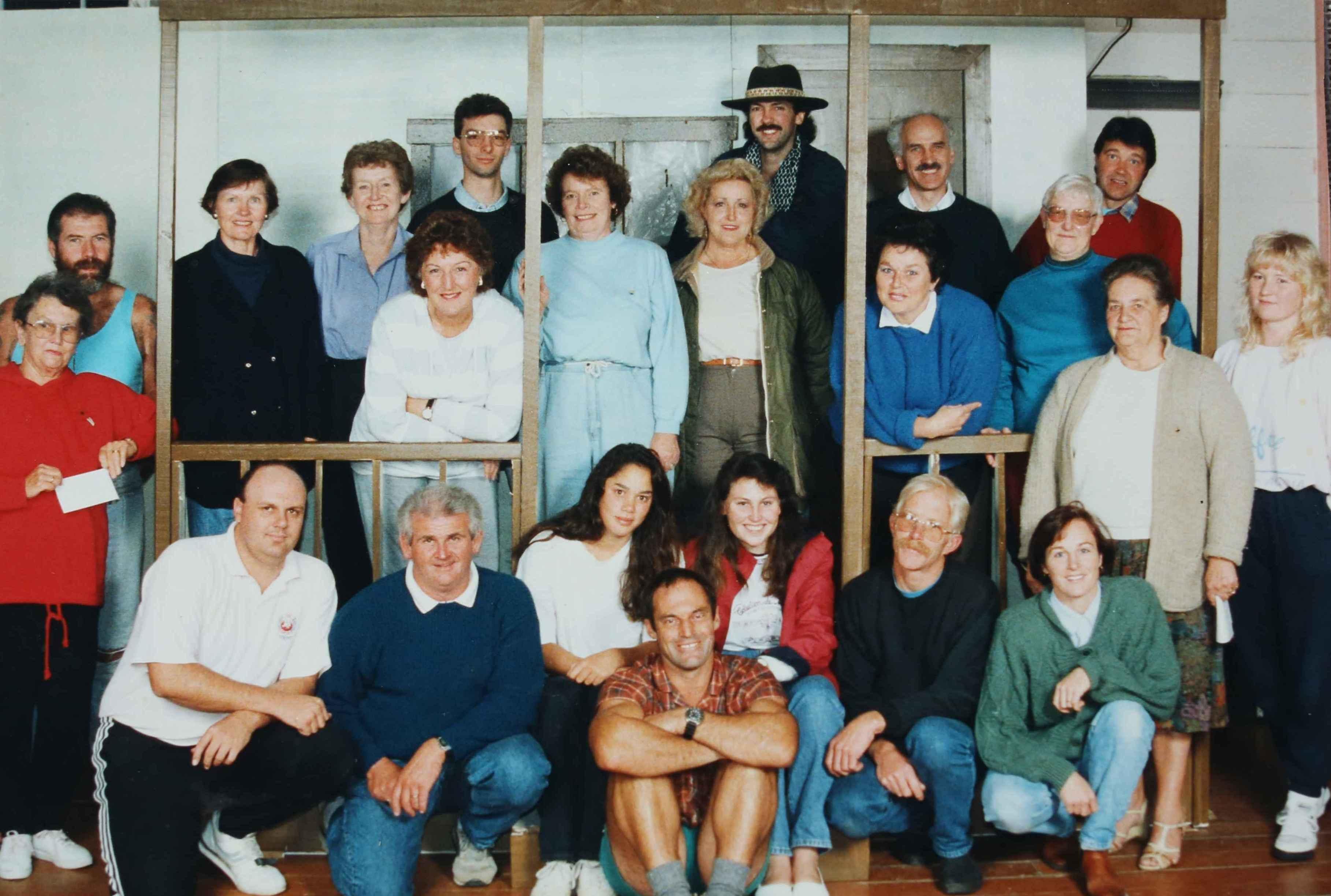 Footrot Flats cast & crew