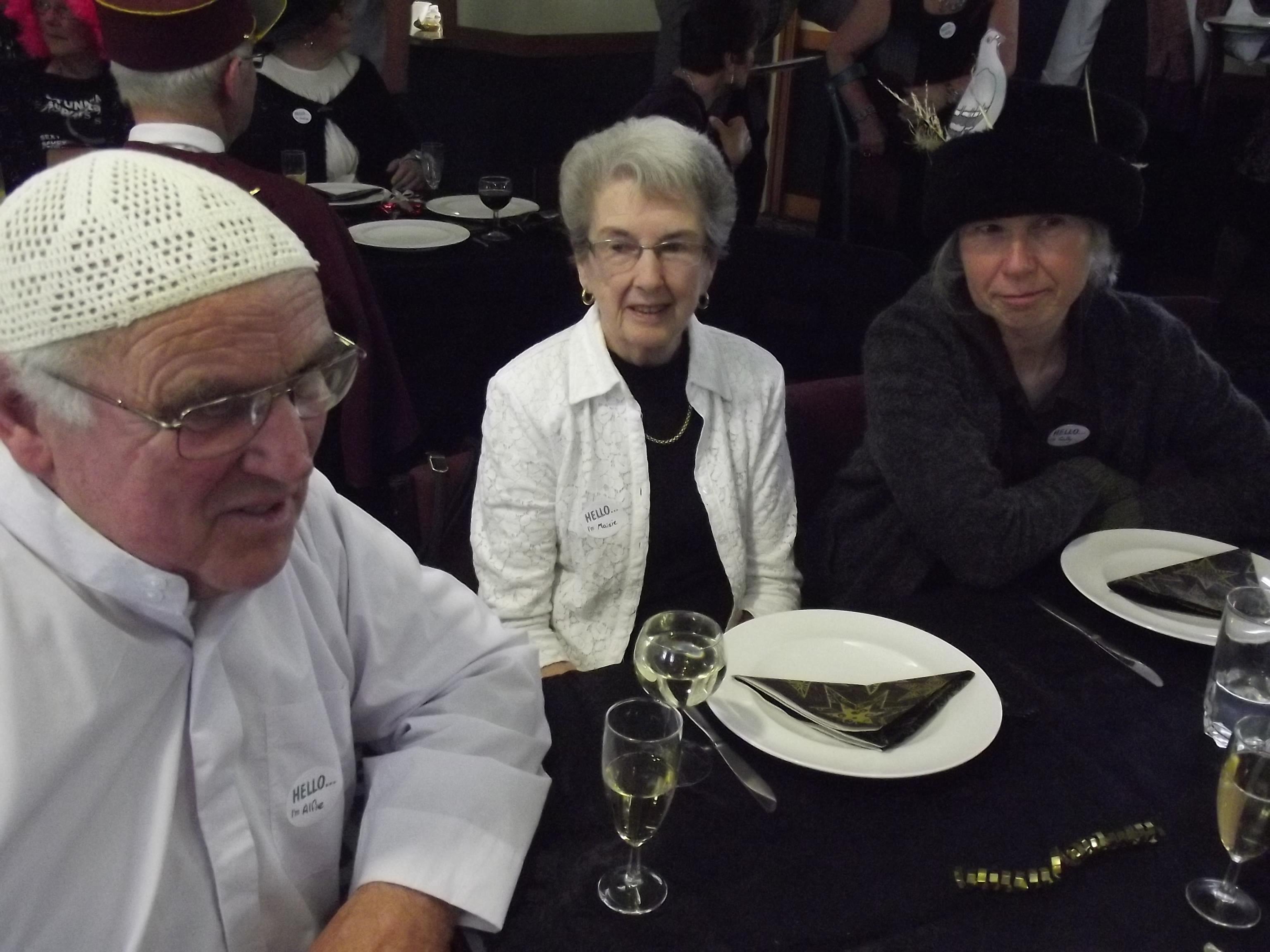 Alf Johnstone, Maisie Scutts, Sally