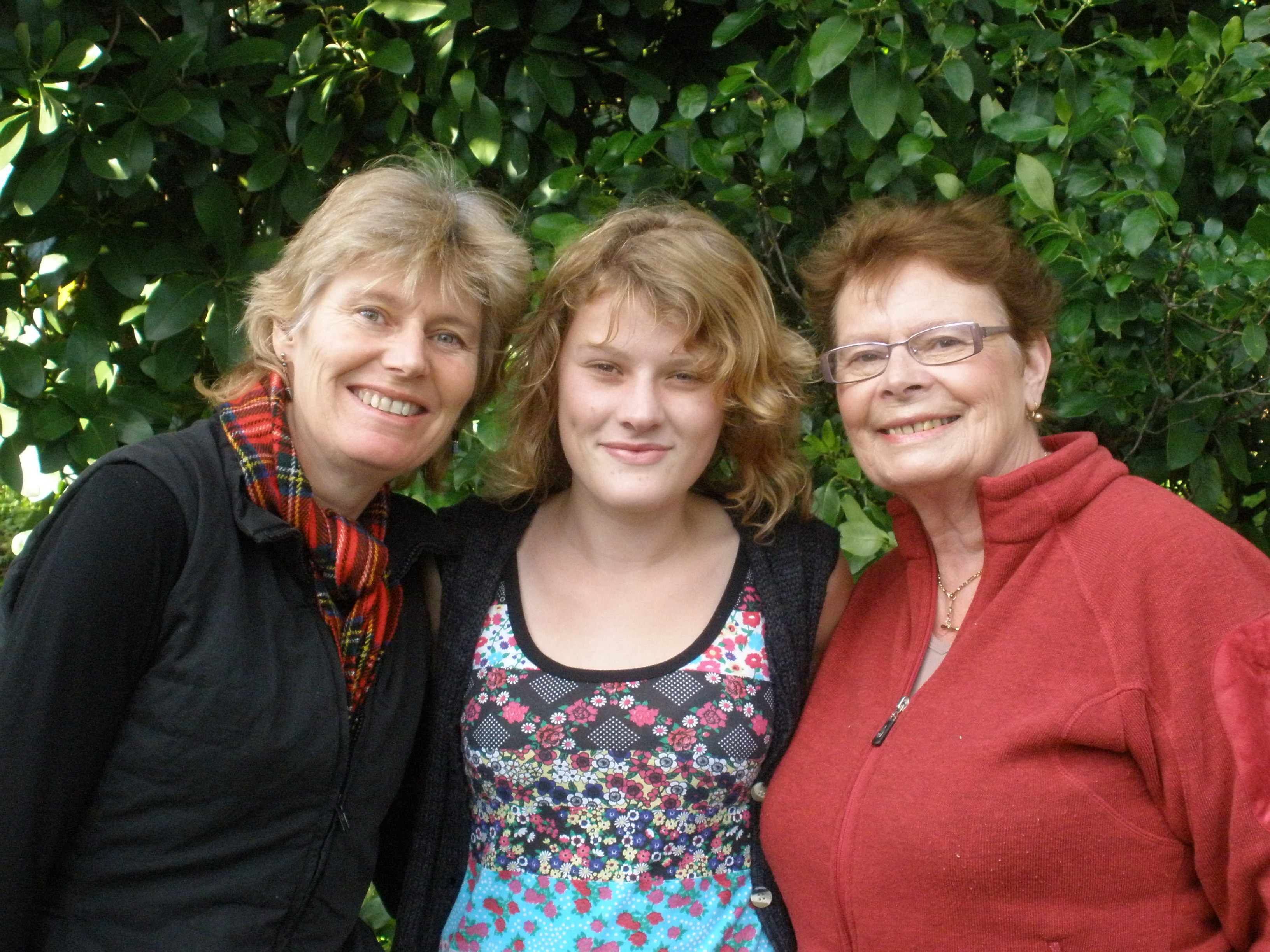 Three generations in one show!