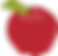 Red apple graphic