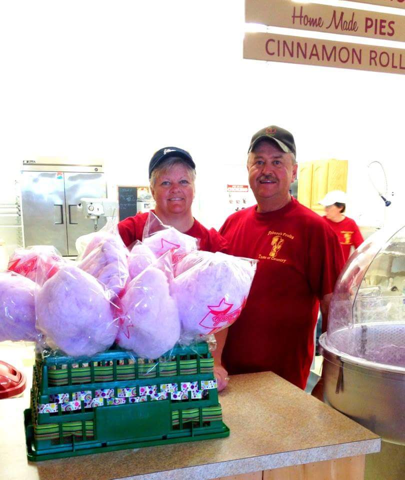 Owners making cotton candy