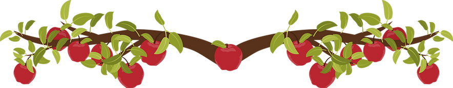 Apple branch graphic