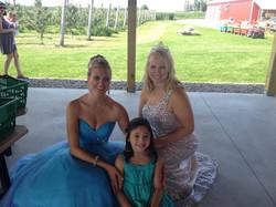Group shot of princess event