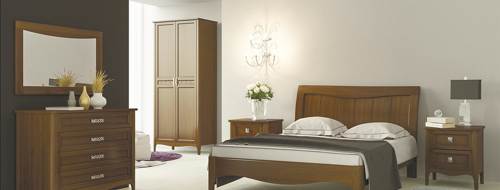 Кровать Орлеан (Дуб)