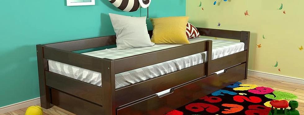 Кровать Немо с бельевым ящиком