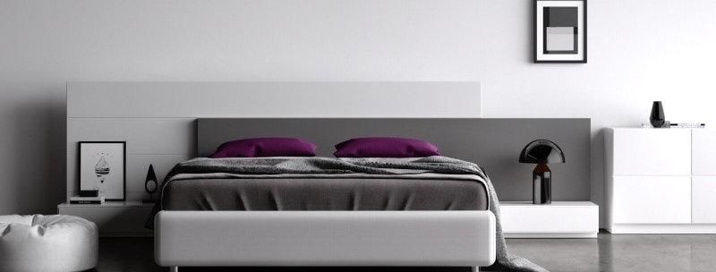 Интерьерная кровать Bosforus с корпусом из массива дерева
