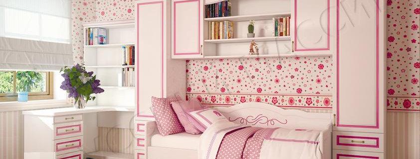 Детская кровать Акварель