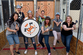 Utah Axe Throwing Parties with Modern Viking Axe
