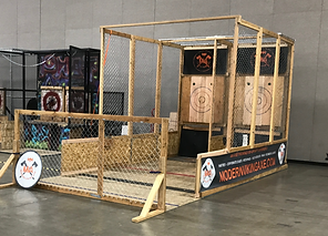 Utah Mobile Axe Throwing Range