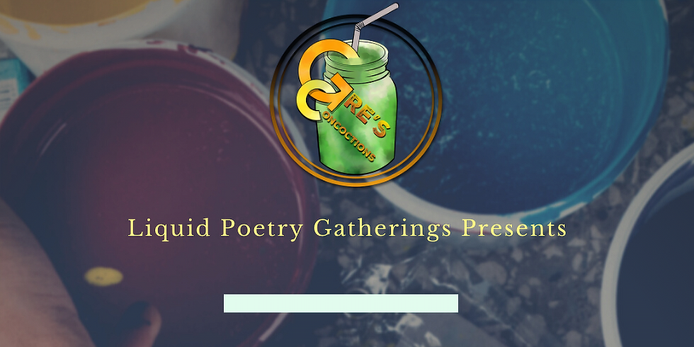 Liquid Poetry Gatherings-Sip & Paint