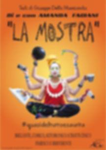 La mostra_monologo_ amanda fagiani_giuse