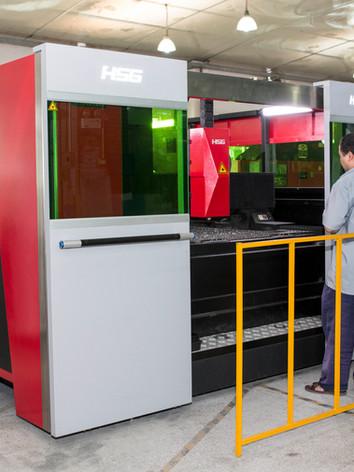 CNC Turret press punching