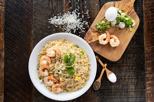 Hiccups Fried Rice with Shimp
