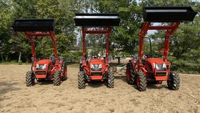 Unsere neuen Traktoren sind da 🚜