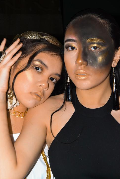 Nina Ylanan and Maikee Chica