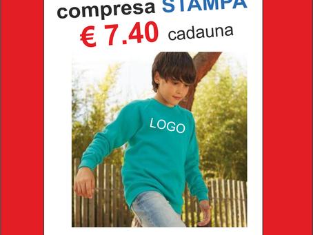 Stampa Felpe € 7.40