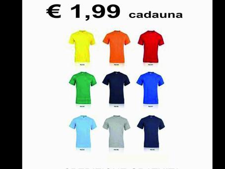 Offerte T-shirt Personalizzate