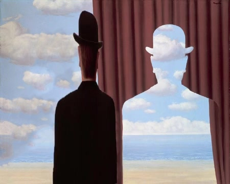 Animation (AR) based on Magritte paintin