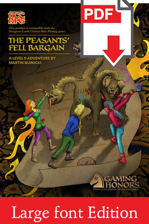 The Peasants' Fell Bargain PDF Module (Large Font Edition)