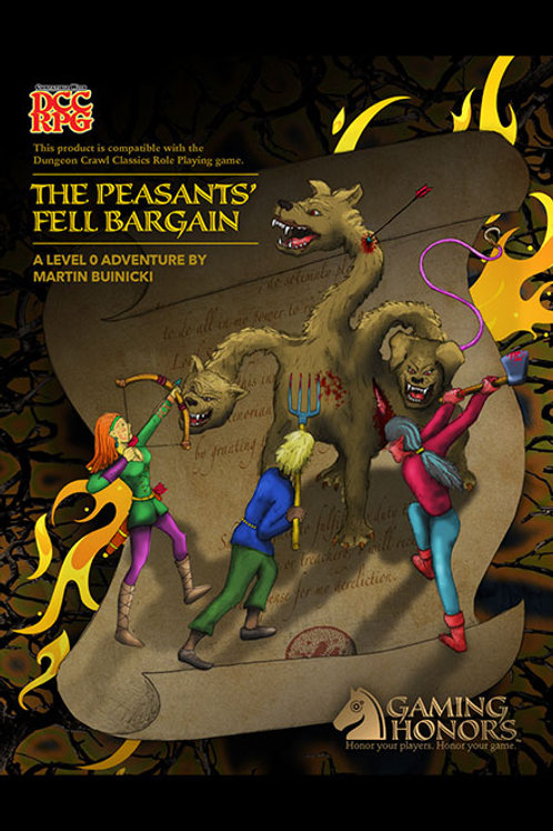The Pesants' Fell Bargain Print Module
