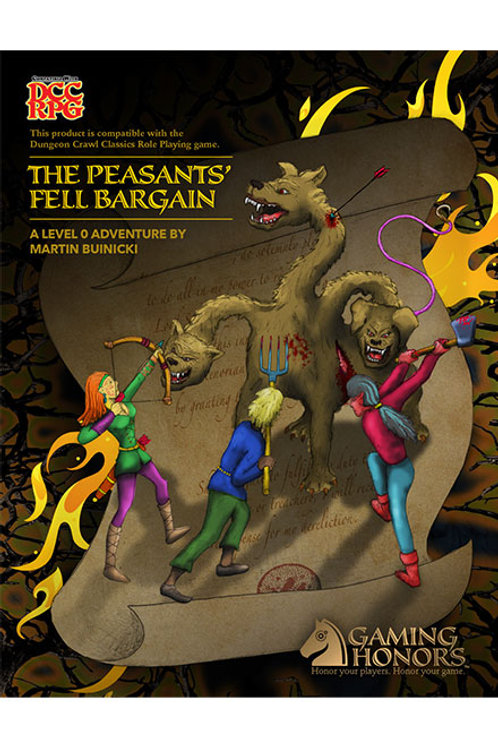 The Peasants' Fell Bargain Print Module