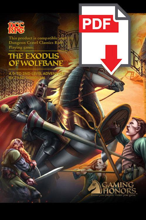Exodus of Wolfbane PDF Module