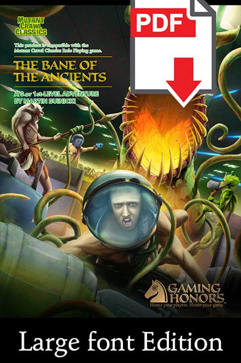 The Bane of the Ancients PDF Module (Large Font Edition)