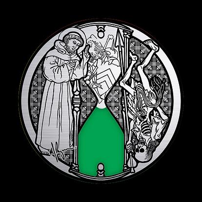 MATTHEW RYAN Cleric_Monk and Reaper Pin