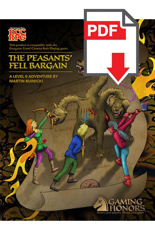 The Peasants' Fell Bargain PDF Module