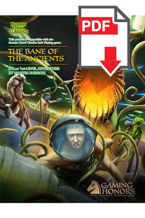 The Bane of the Ancients PDF Module