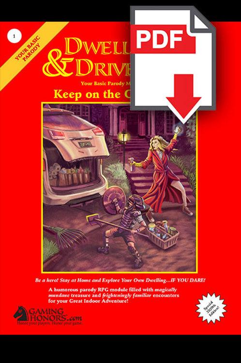 Dwellings & Driveways Keep on the Cul-de-Sac PDF Module