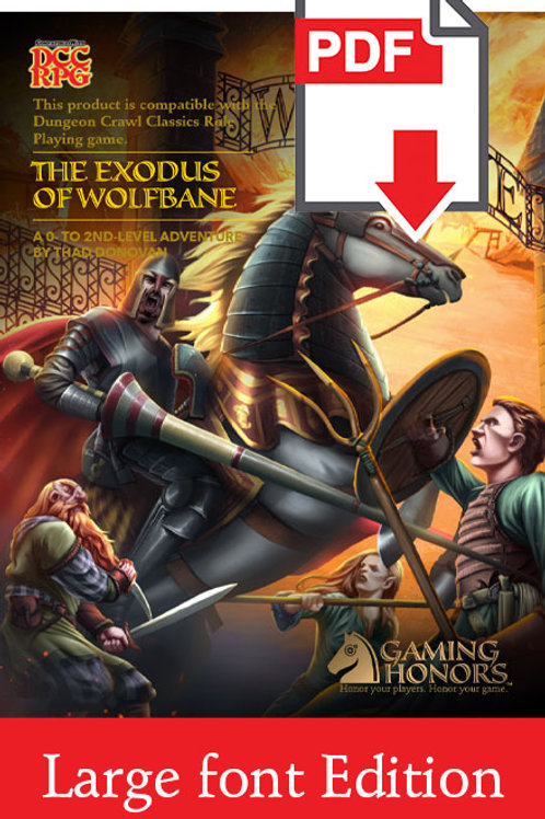 Exodus of Wolfbane PDF Module (Large Font Edition)