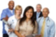 Medical Team. Diverse Group of Medical C