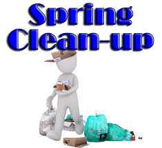 Gather your junk; time to tidy up for spring!